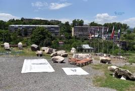 Շուշիում քանդակագործության 5-րդ միջազգային սիմպոզիումն է