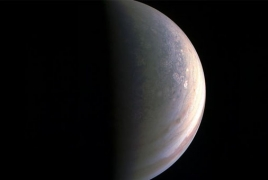 NASA probe grazes Jupiter's clouds in brush with Great Red Spot