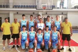 Армянские баскетболисты до 16 лет примут участие в ЧЕ дивизиона «С»
