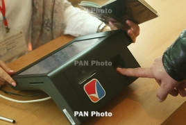 """Armenian parliamentary elections assessed """"as entirely not free"""""""