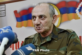Top Armenian officials congratulate newly-elected Karabakh president