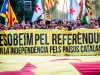 Support for Catalonia's independence down as referendum nears