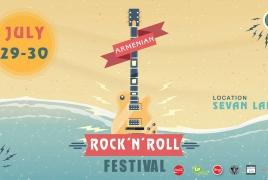Lake Sevan to host 2-day rock festival