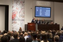 Christie's art sales total $3 billion in first half of 2017