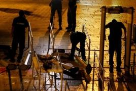 Israel to remove metal detectors in Jerusalem's Old City