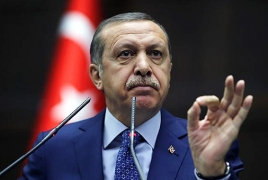 Turkey's Erdogan ramps up rhetoric ahead of EU talks