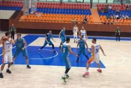 Сборная Армении по баскетболу победила Казахстан в товарищеском матче