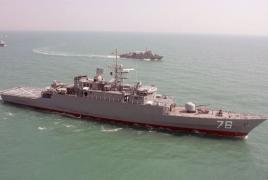 Американский военный корабль обстрелял иранское судно в Персидском заливе