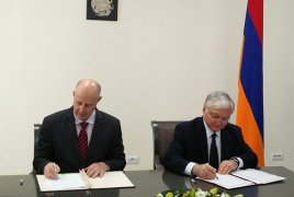 Armenia, Israel vow to develop 'friendly ties'