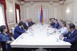 Баблоян - Анегби: Прошедший Холокост еврейский народ поймет требование армян о восстановлении справедливости