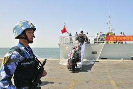 Китай открыл  первую зарубежную военную базу