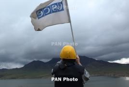 OSCE conducts regular monitoring of Artsakh-Azerbaijan contact line