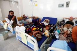 Почти полмиллиона человек заразились холерой в Йемене