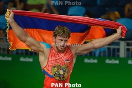 Armenian Olympic gold medalist Artur Aleksanyan becomes world champion