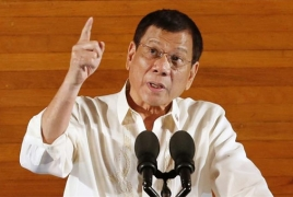 Philippine president tells police to kill 'idiots' who resist arrest