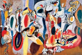 Arshile Gorky on view at Yale University Art Gallery