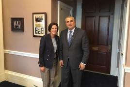 Armenia, California mull establishing trade office in Los Angeles