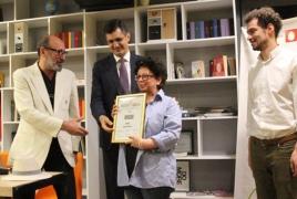 Նաիրա Մուրադյանի «Բալետը»՝ «Web ծիրան»-ի  գլխավոր մրցանակակիր