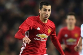 Henrikh Mkhitaryan fifth fastest player in Manchester United