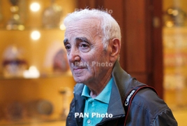 French-Armenian legend Charles Aznavour returns to Israel for concert
