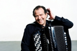 World-famous jazz accordionist Richard Galliano coming to Armenia