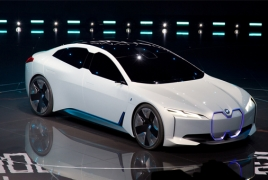 BMW's new electric car concept boasts 100km launch of 4 seconds