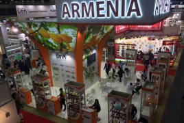 Armenian pavilion stuns buyers, distributors at WorldFood Moscow