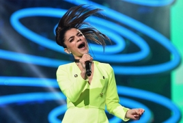 Armenian singer shares first spot at major Russian competition