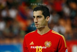 Henrikh Mkhitaryan says he 'is proud to be Armenian'