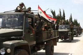Syrian army secures buffer zone around Deir ez-Zor airport