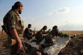 Massive Kurdish convoy heading to defeat Islamic State in Deir ez-Zor