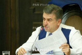 Proposal for Best IT Startup Award introduced to Armenia PM