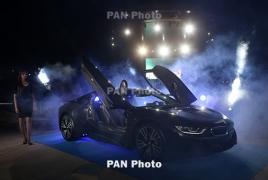 BMW i8  hybrid sports car launches in Armenia