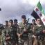 Syrian army makes progress south of Deir ez-Zor Airport
