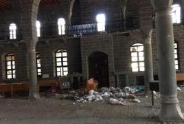 Դիարբեքիրի հայկական եկեղեցին՝ գողերի թիրախում
