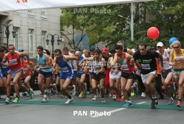 This year's Yerevan Half Marathon slated for October 15