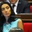 Доклад: Женщины составляют 18% депутатов парламента Армении