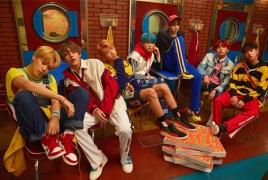 Корейская группа BTS - лидер чартов iTunes в Армении и еще 72 странах