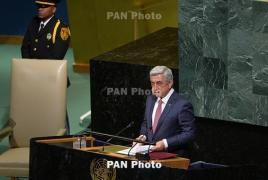 Armenia will annul Turkey protocols in 2018: president