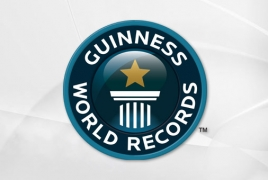 Armenian artist's graffiti sets Guinness World Record