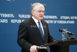 Armenia FM says Karabakh's status focal issue in peace process