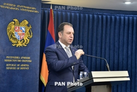 Arms delivery under Armenia-Russia loan deal to conclude 'by year-end'