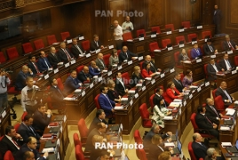 Armenia parliament rejects proposal related to withdrawal from EEU