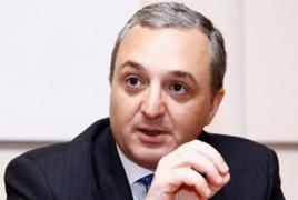 Armenia calls for international effort in countering terrorism