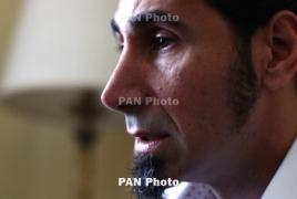 Serj Tankian promotes Armenian Genocide doc