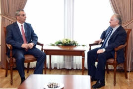 Karabakh FM in Yerevan for talking conflict with Armenian counterpart