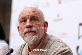 John Malkovich says was looking forward to Armenia trip