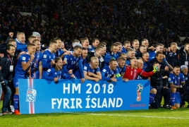 Iceland become smallest nation ever to seal a place at World Cup finals