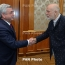Armenia president, John Malkovich meet ahead of Yerevan concert