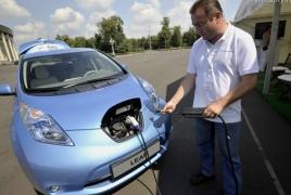 Импорт электромобилей в Армению планируют освободить от налогов и пошлин